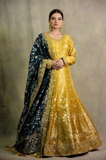 Mehendi Anarkali Dress | Surya sarees | House of Surya