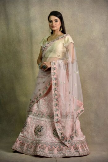 Surya Saree | Onion Pink Lehenga Choli | House of Surya