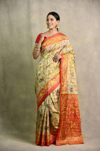 Latest Golden Gazri sari | Surya Sarees | House of surya | chandni chowk | Old Delhi