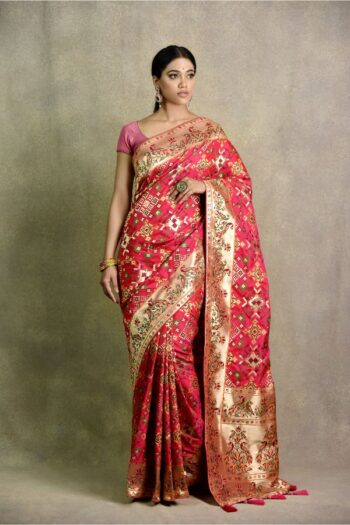 Rani Color Saree | Surya Sarees | House of Surya