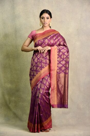 Buy latest Wine colour saree | Surya Sarees | House of surya | chandni chowk | Old Delhi