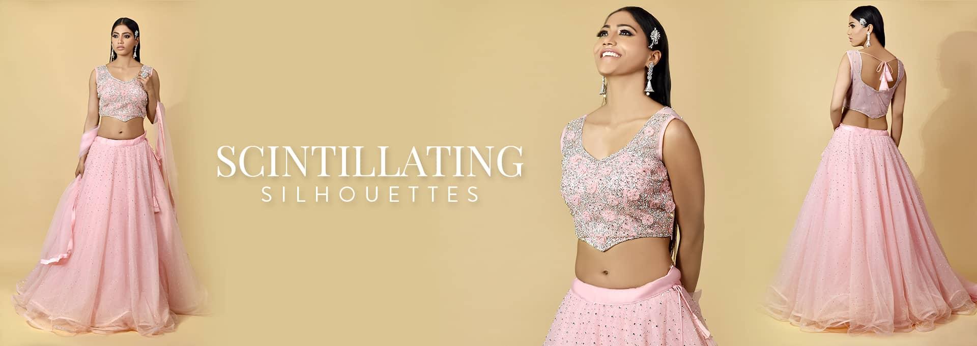 Surya Sarees | SCINTILLATING SILHOUSETTES | House of Surya | Chandni Chowk