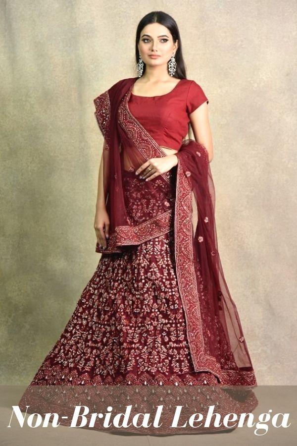 Surya Sarees | NON-BRIDAL LEHENGA | House of Surya | Chandni Chowk