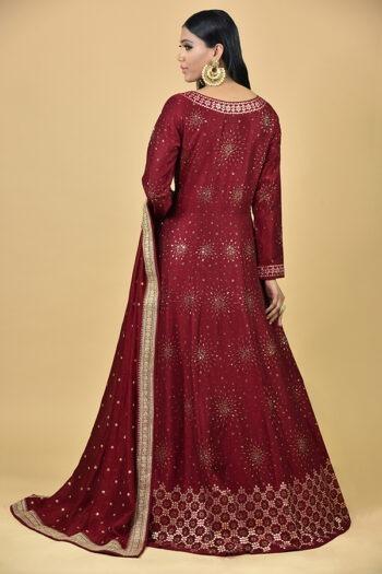 Cherry Anarkali Dress