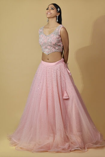 Baby Pink Lehenga Choli