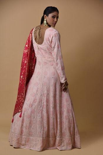 Light Pink Anarkali Dress