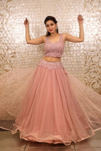 House of Surya | Pink Colour Lehenga Choli | Surya Sarees
