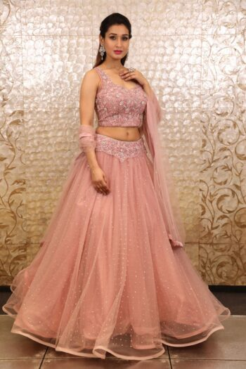 House of Surya | Pink Colour Lehenga Choli | Surya Sarees