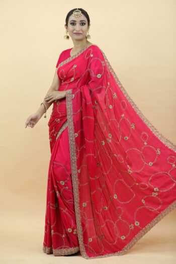 Red Sarees | House of Surya | Surya Sarees