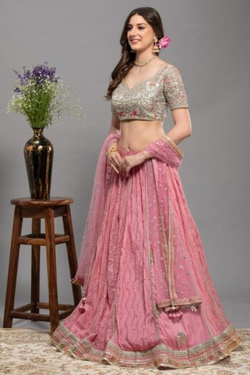 Pink Colour Lehenga Choli | House of Surya | surya sarees
